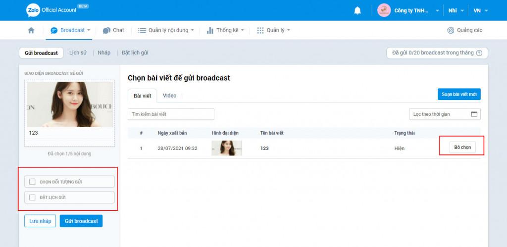 phần mềm hẹn giờ gửi tin nhắn zalo